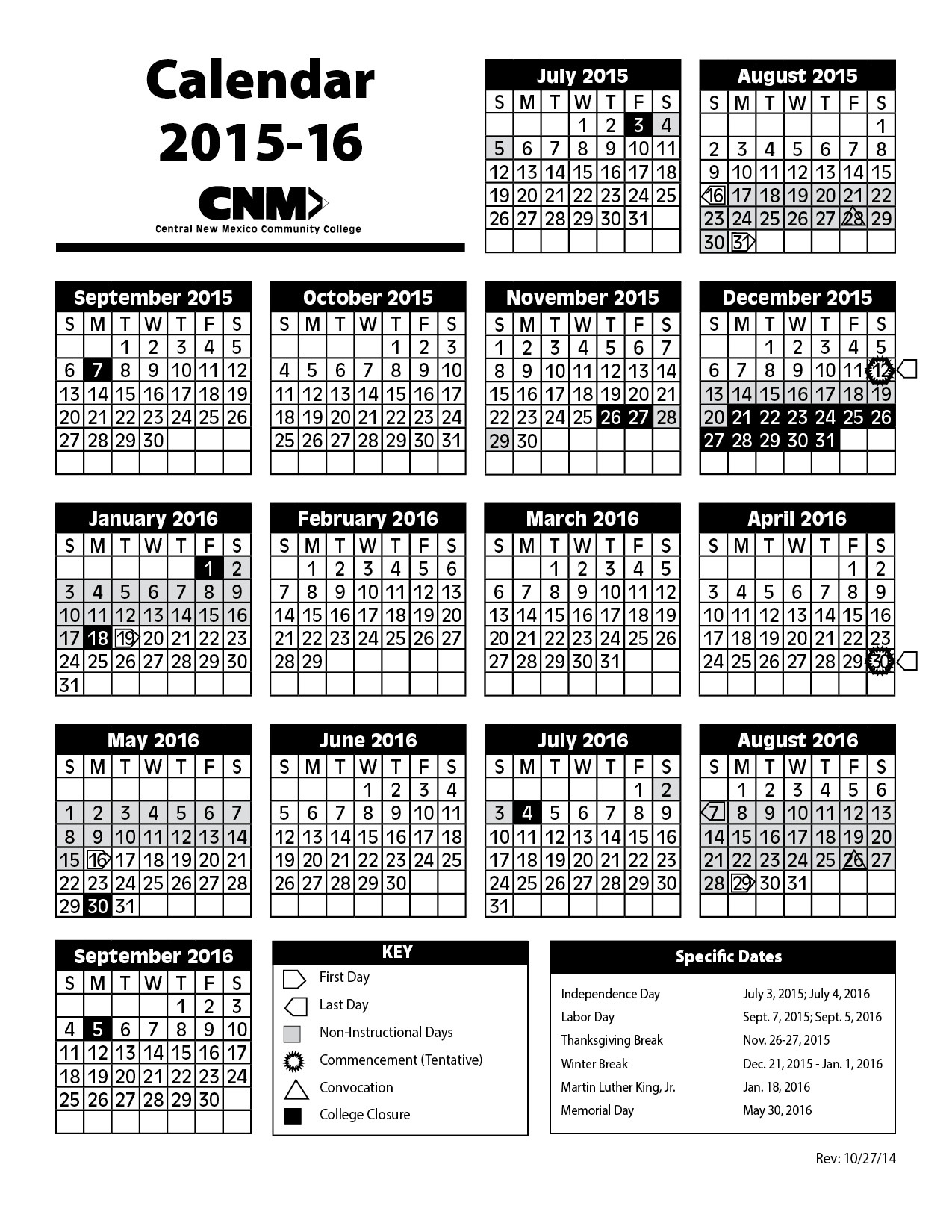 caption:2015-16 Academic Calendar thumbnail