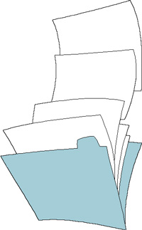 Tax Help File Folder Image