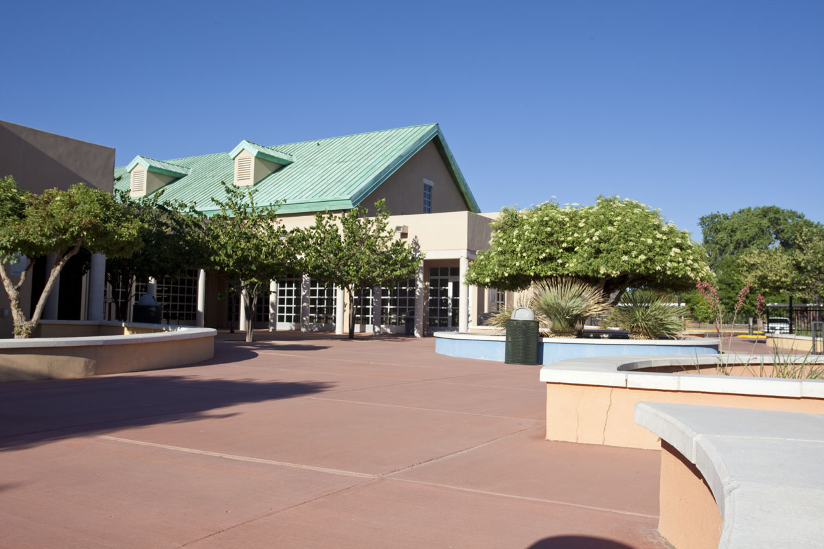 Front of CNM South Valley Campus